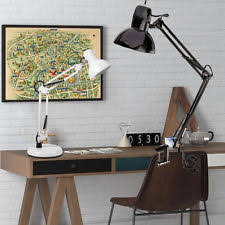 Clip On Desk Lamp Canada Swing Arm Lamp Clamp Ebay