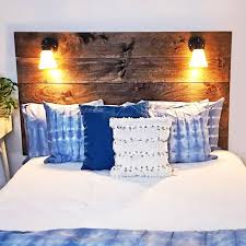 diy headboard this 150 diy reading l headboard is perfect for every book lover
