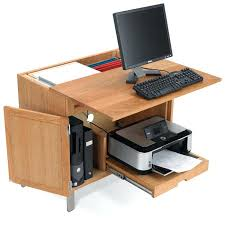 Desk With Computer Storage Computer Desks With Storage Black Computer Desk With Cpu Storage