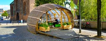 Urban Garden Los Angeles Tiny Green Embassy Hut In Aarhus Invites Public To Experience
