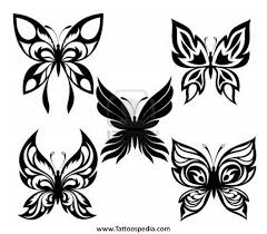 8 best black and butterfly tattoos images on butterfly