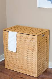 Pretty Laundry Hampers by Amazon Com Birdrock Home Oversized Divided Clothes Laundry Hamper