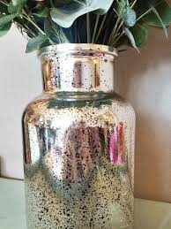 Silver Vase Wholesale Decorating Mercury Vases Wholesale Mercury Glass Vase