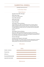 Hotel Front Desk Resume Sample by Front Office Manager Exemple De Cv Base De Données Des Cv De