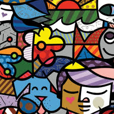 britto garden wallpaper