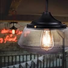 Industrial Glass Pendant Light Leaf Pendant Lighting Vintage Industrial Glass Pendant Light