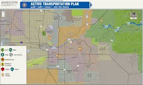 Map Of Chandler Az Active Transportation Plan Maricopa County Az