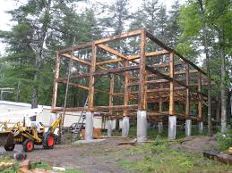 building a timber frame house by yourself