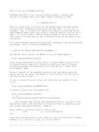 gutindex 2009 computer file websites