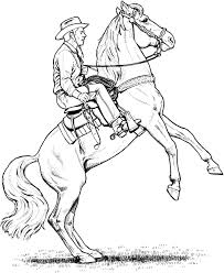 coloring pages horse trailer coloring pages horse trailer new rodeo two color page by dancing