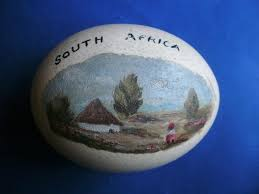 ostrich egg painted vintage painted south africa ostrich egg the cabinet of curiosities