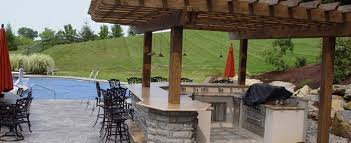 patio exles outdoor kitchens berks county landscaping
