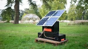 diy solar this open source diy solar generator unfolds like a flower make