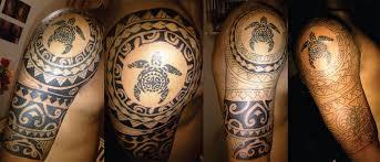 tribal turtle sleeve tattoo venice tattoo art designs