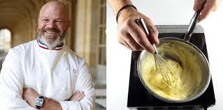 chef de cuisine philippe etchebest recette en photos de la crème chiboust par philippe etchebest