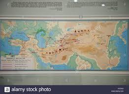 Silk Road Map Ulag Beg Observatory The Astronomer King Silk Road Map Samarkand