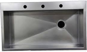 custom stainless steel workstation kitchen sinks that look like zinc