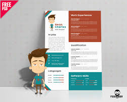 Best Resume Examples Download by Download Creative Resume Template Free Psd Psddaddy Com