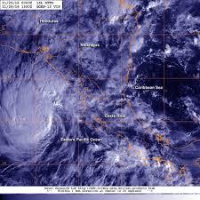 nasa animation shows hurricane otto over 5 days nasa