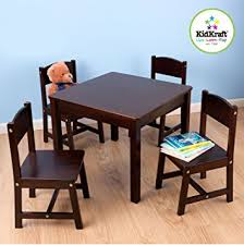 Farmhouse Table And Chairs For Sale Amazon Com Kidkraft Farmhouse Table And Chair Set Toys U0026 Games