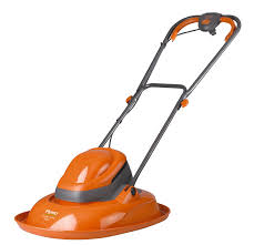 flymo ftl330 turbo lite electric hover lawnmower orange amazon