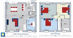 plan maison 4 chambres etage plan maison 4 chambres etage beau collection plan de construction de