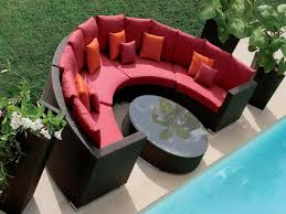 curved outdoor sofa furniture centerfieldbar com