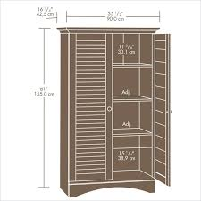 Sauder Palladia Armoire Cherry Sauder Harbor View Sewing Craft Armoire Sauder Harbor View