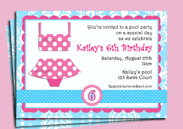 pool party invitation wording dancemomsinfo com