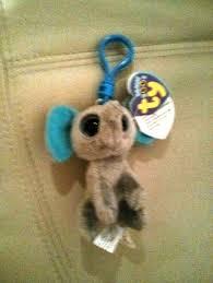 free elephant ty beanie boo peanut keychain dolls u0026 stuffed