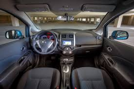 nissan note 2009 interior 2014 nissan versa note sv driving report car review