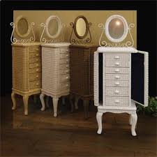 Jewelry Armoire Antique White Jewelry Armoires U0026 Boxes Homeclick