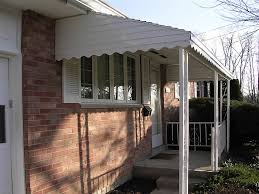 Entrance Awning Patton Aluminum Sun Haven Products New Carlisle Oh 45344