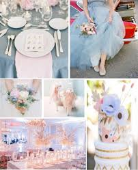serenity rose quartz board pantone color of the year wedding