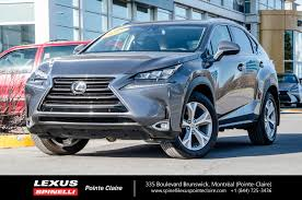lexus is a vendre 2015 lexus nx 200t executive groupe used for sale in nav cam