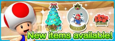 festive items added to super mario run nintendo everything