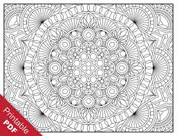 free printable geometric coloring pages adults coloring page