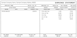 Payroll Statement Template by Sle Pay Stub Instant Pay Stubs Pay Stubs