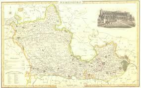 Map Of Oxford England by Genuki Berkshire