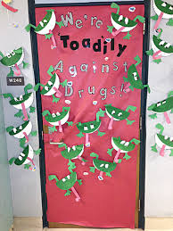 Red Ribbon Week Door Decorating Ideas Wahpeton U0027s Central Elementary Hold Door Decorating Contest Local