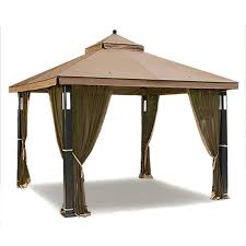 gazebo covers sears garden oasis lighted gazebo replacement canopy garden winds