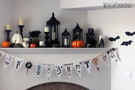 worth pinning halloween glam mask mantel