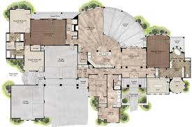 mediterranean style house plan 4 beds 5 00 baths 4320 sq ft plan