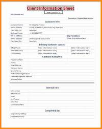 Stat Sheet Template 3 Information Sheet Template Model Resumed
