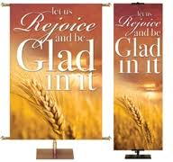 fall and thanksgiving season banners for church