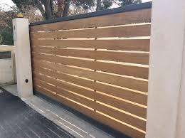 portail pour maison pas cher portail bois exotique portail en pvc pas cher expression maison
