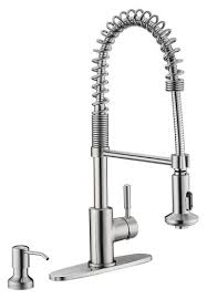 Kitchen Faucets At Menards by Tuscany Volk One Handle Pull Down Coil Kitchen Faucet At Menards