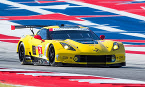 race to win corvette corvette racing survives crash to win sportscar showdown
