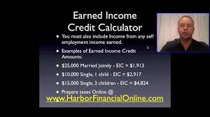 2017 earned income tax table 2012 2013 earned income credit calculator youtube