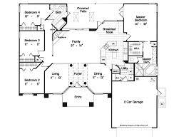 4 Br House Plans 1 Story 4 Bedroom House Plans U2013 Readvillage